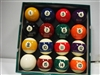 Aramith Pool Ball Set With Regular-Sized Cue Ball