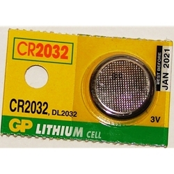 Battery Lithium 3V CR2032