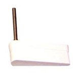 White Flipper Bat With Stern Logo