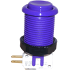 Happ Pushbutton W / Horizontal Micro-Switch - Purple
