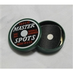 Tefco Pool Table Spots (Tin Of 12 Spots)