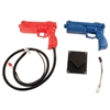 Sega Gun Assembly With Red & Blue Shells Included