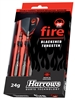 Harrows Fire Steel Tip Darts - 90% Tungsten