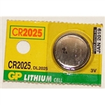 Battery Lithium 3V CR2025