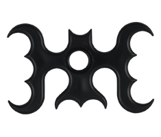 Bat Plastic Bridge Head