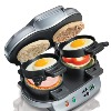 Dual Breakfast Sandwich Maker with Timer