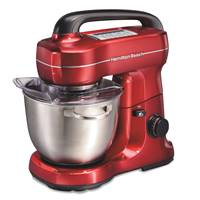 Metallic Planetary Stand Mixer - Red