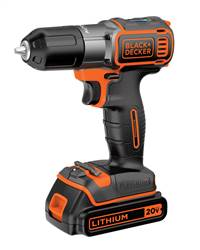 B&D 20V MAX* Lithium Drill/Driver with AutoSenseª Technology