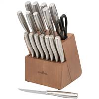 Prime Chefª Stainless Steel 18 Piece Block Set
