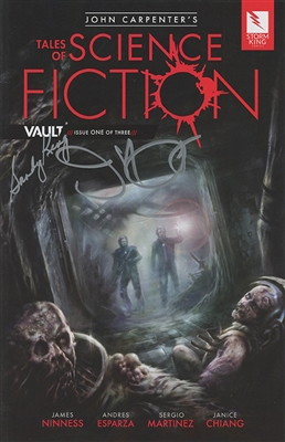 John Carpenter's Tales of Science Fiction: Vault - Issue 1