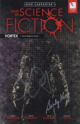 John Carpenter's Tales of Science Fiction: Vortex - Issue 4