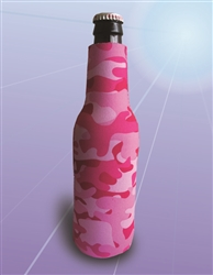 Blank Neoprene Zipper Bottle Cooler