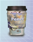 Full Color Sublimation Coffee Cup Wrap ( Neoprene)