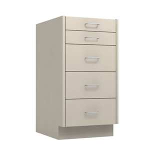 "18"" 5-Drawer Base Cabinet"