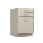"18"" Dual Pencil File Cabinet - desk ht"