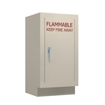 "18"" W Insulated Solvent Cabinet RH"