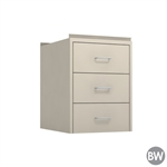 "18"" W 3-Drawer Hanging Cabinet"