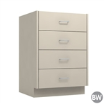 "24"" 4-Drawer Base Cabinet"
