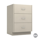 "24"" 3-Drawer Base Cabinet"
