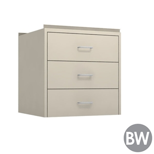 "24"" W 3-Drawer Hanging Cabinet"