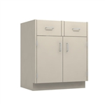 "30"" Double Door Drawer Base Cabinet"
