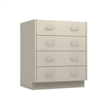 "30"" 4-Drawer Base Cabinet"