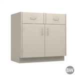 "36"" Double Door Drawer Base Cabinet"