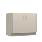 "36"" 2-Door Base Cabinet - desk ht"