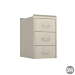"15"" W 3-Drawer Hanging Cabinet"