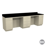 "120"" X 30"" Casework Kit with Epoxy Top (120"" X 36"" X 30""D)"