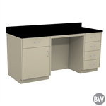 "72"" X 30"" Casework Kit with Epoxy Top (72"" X 36"" X 30""D)"