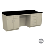 "96"" X 30"" Casework Kit with Epoxy Top (96"" X 36"" X 30""D)"