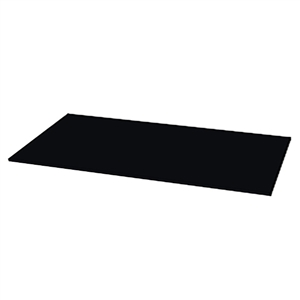 "100"" Black Epoxy Slab - 30"" D"