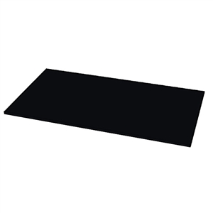 "100"" Black Epoxy Slab - 36"" D"