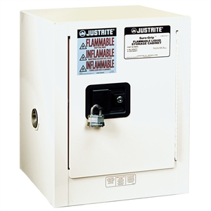 Mini, Countertop and Compac Sure-Grip EX Safety Cabinets 4 Gal. Self Close Doors