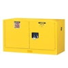 Wall Mount Sure-Grip Flammable Safety Cabinet 17 Gal. Manual Doors