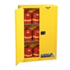 Justrite 90 Gal. Sure-Grip&#0174 EX Lab Safety Cabinet (Self-Close, Yellow)