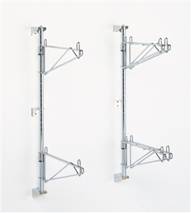Super Erecta Stainless Steel Wall Mount Post