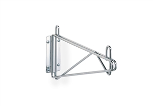 Super Erecta Chrome Single Shelf Support