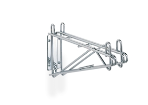 Super Erecta Chrome Double Shelf Support