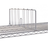 "24""W Super Erecta Stainless Steel Shelf Divider"