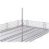 "4"" Stainless Steel Super Erecta Ledge (48""L)"