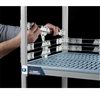 "2"" MetroMax Q Stackable Shelf Ledges- Back (60""W Shelf)"