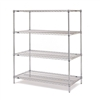 "Metro EZ1860NC-4 Super Erecta Chrome Convenience Pak - 18"" x 60"""