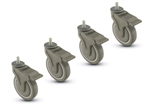 Casters: Set of 4
