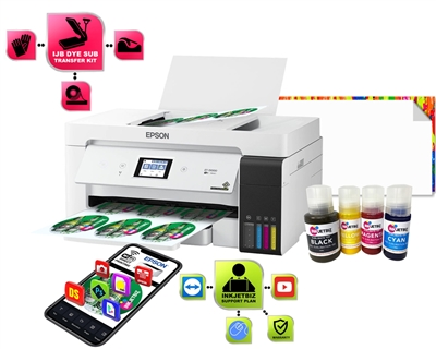 "GO ET-15000 DS <br/>SubliMateâ""¢ Bundle<br>Printer/Ink/Media/Press"