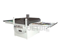 "Mogk PTP-900D <br>Semi-Automatic Heat Press Dual Shuttles <br> 33.5"" x 43"""