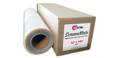 "ScreenMate <br> COLOR SEPARATION <br> 13"" X 100' <br> ROLL"