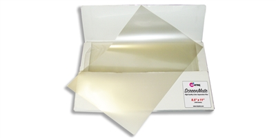 "ScreenMate dMax <br> Color Separation Film<br>8.5"" X 11"" <br> 100 SHEETS"