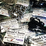 "BEAD CHAIN approx. 30"" per PACK"